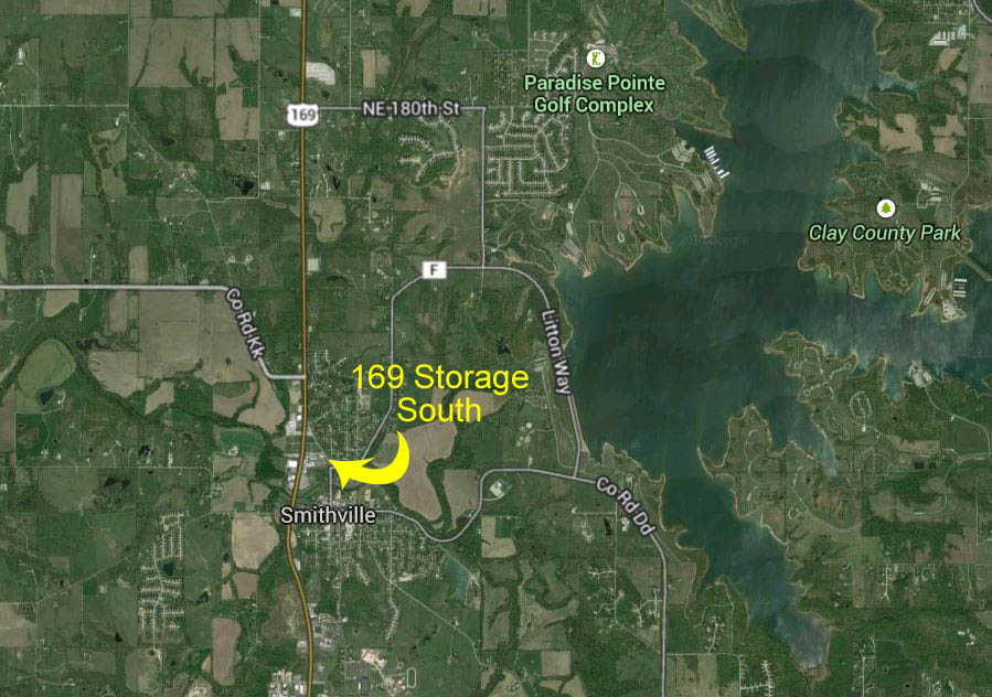 169 Storage Google Map South